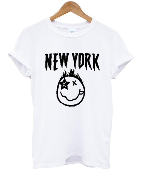 New York Emoticon T-Shirt