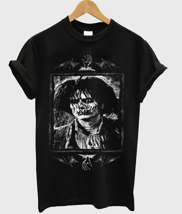 Worn Doll Billy Butcherson Hocus Pocus Zombie T-Shirt
