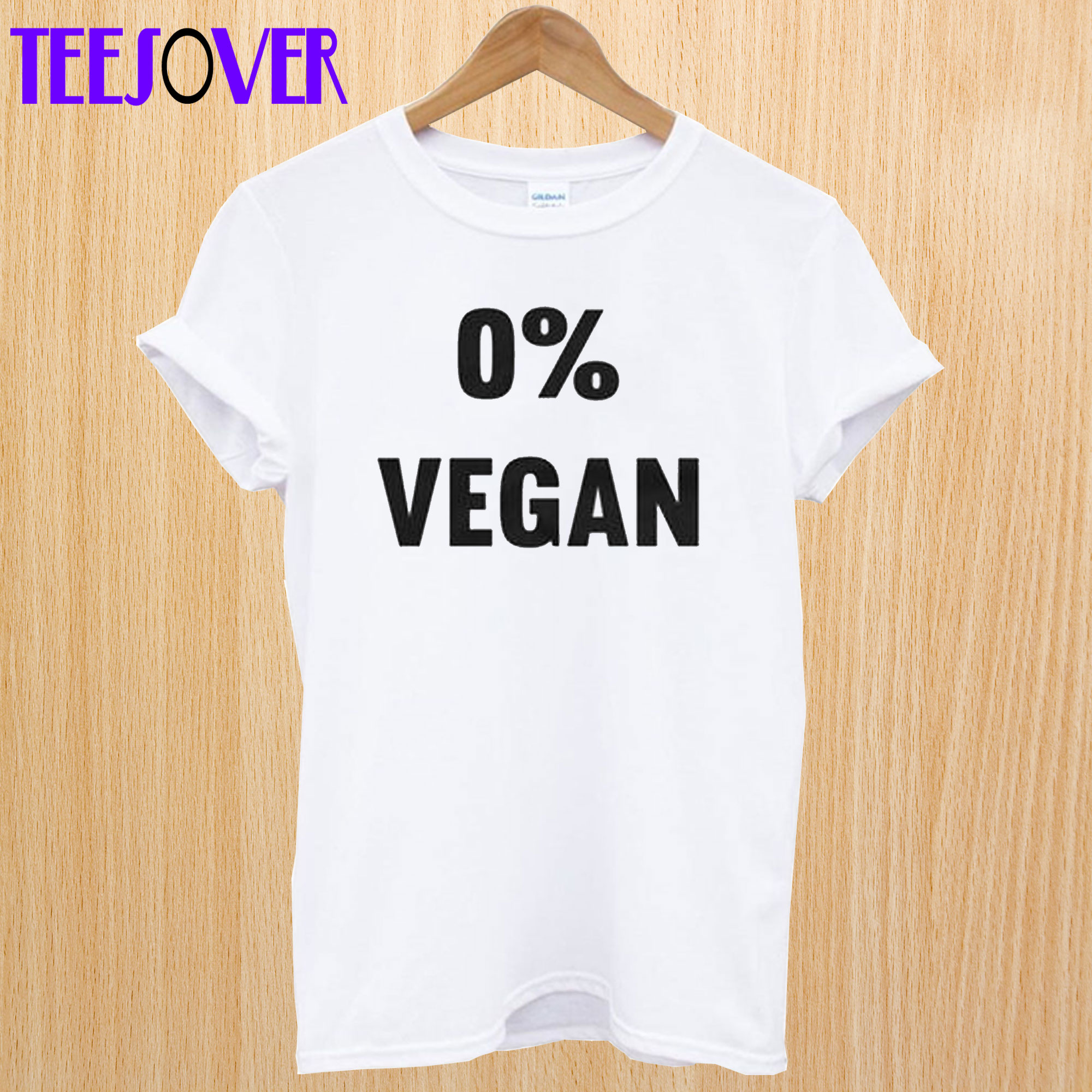 0% Vegan T-shirt