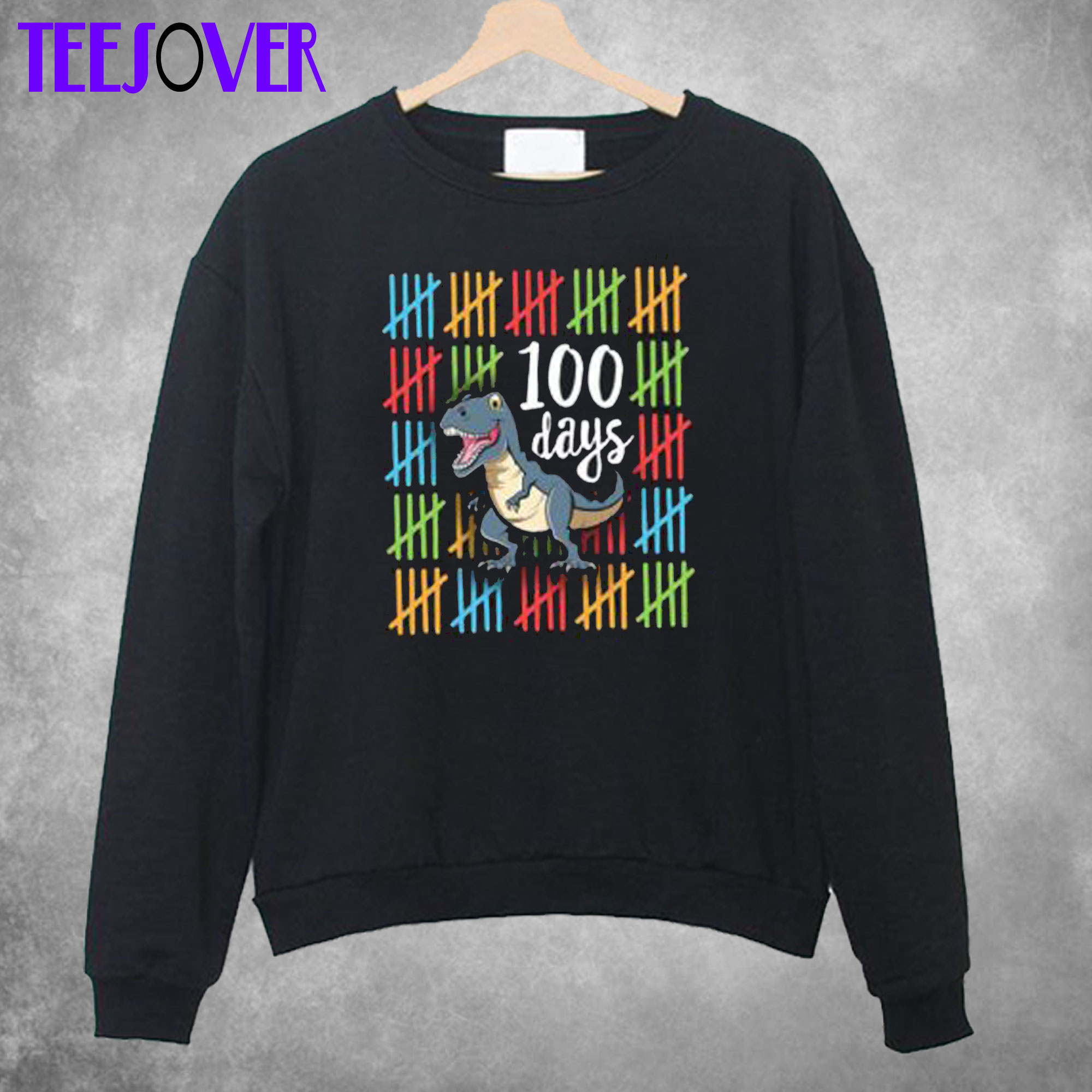 100 Days School Party 100th Sweatshirt