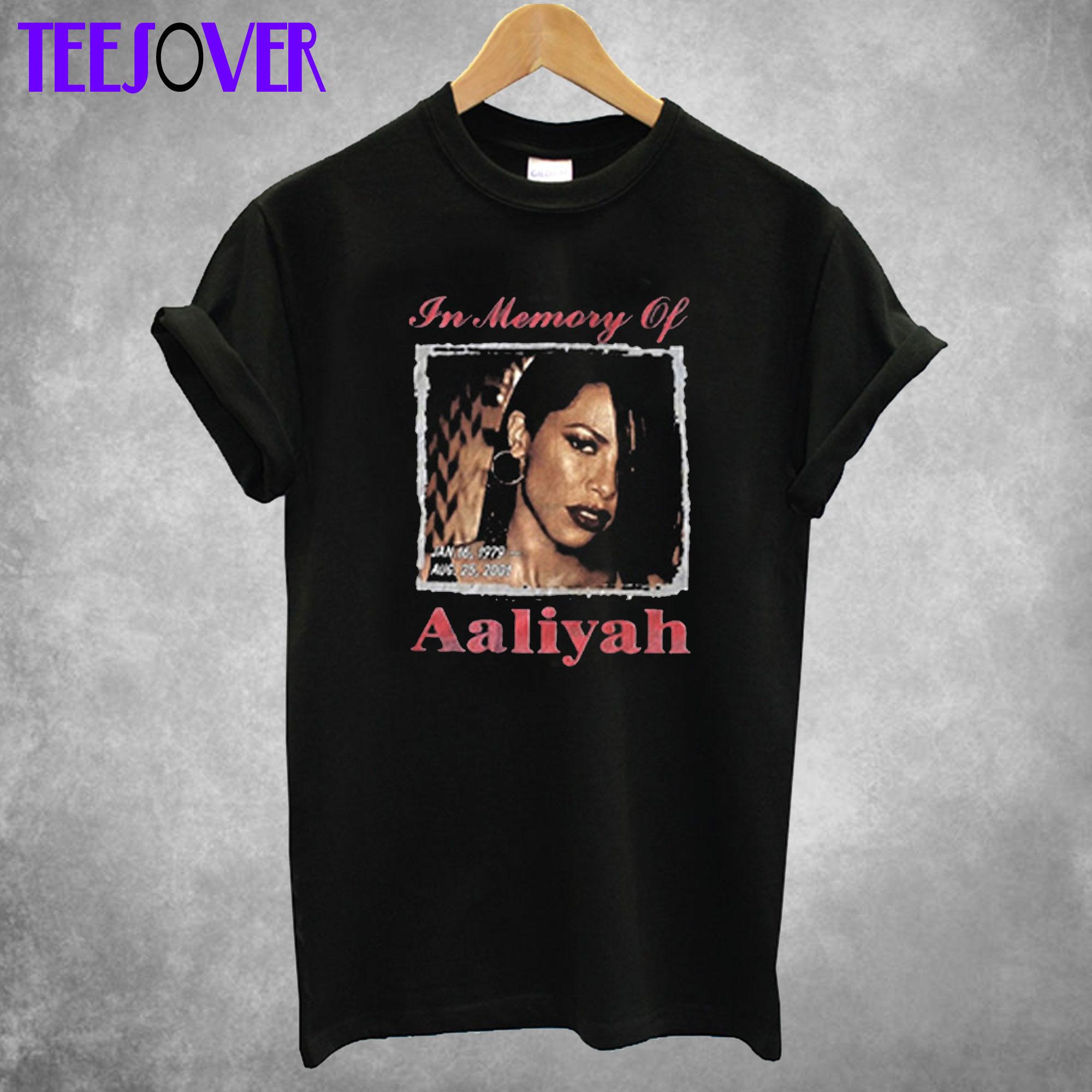 In Memory Of Aaliyah T shirt
