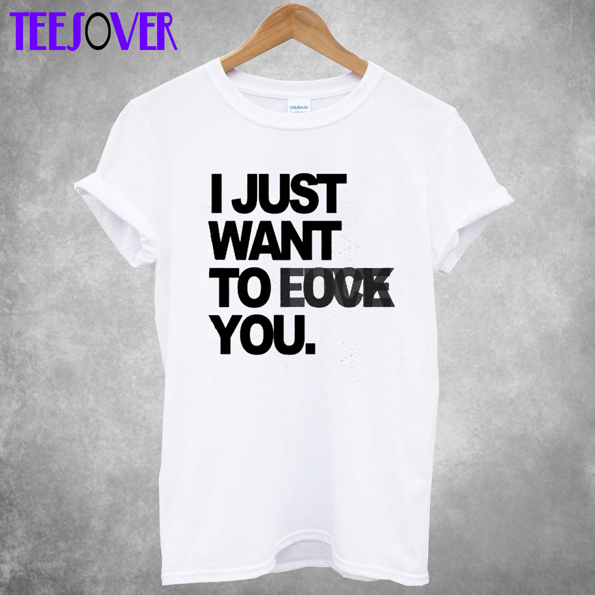 i just want to be T-shirt
