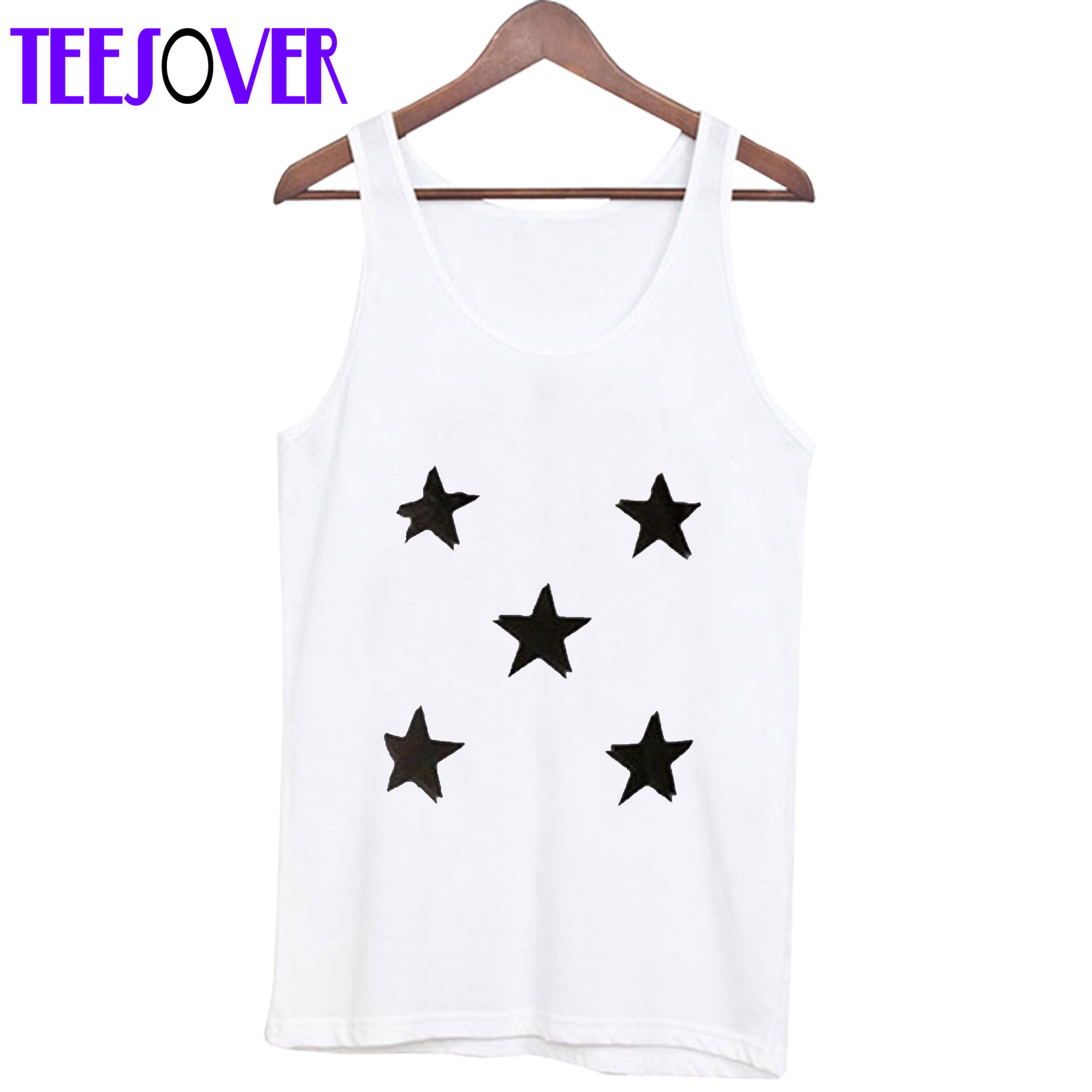 Black Stars Tank Top
