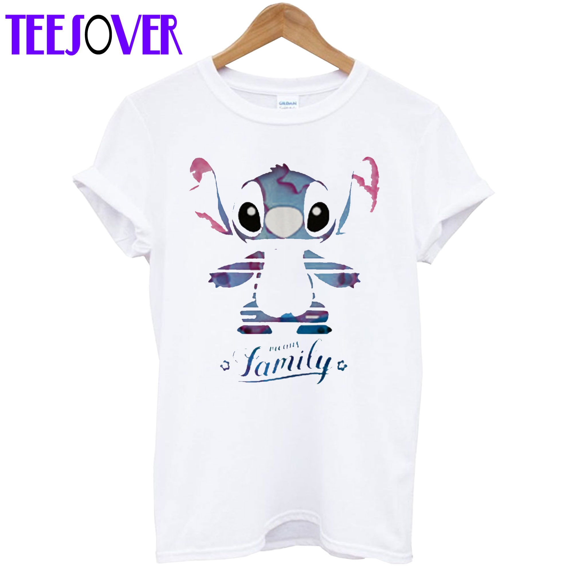 Stitch Means Family T shirt