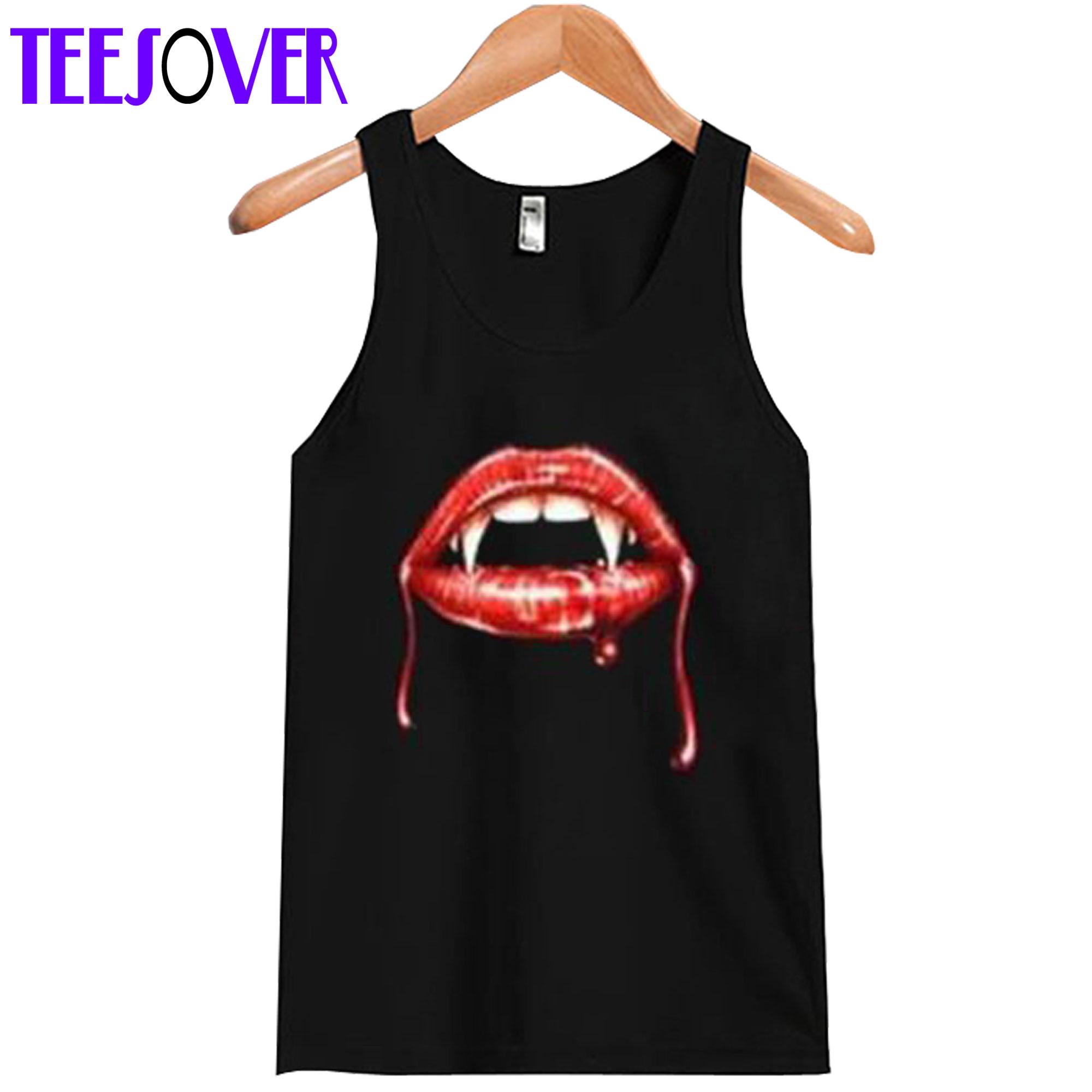 Vampire Lips Tanktop