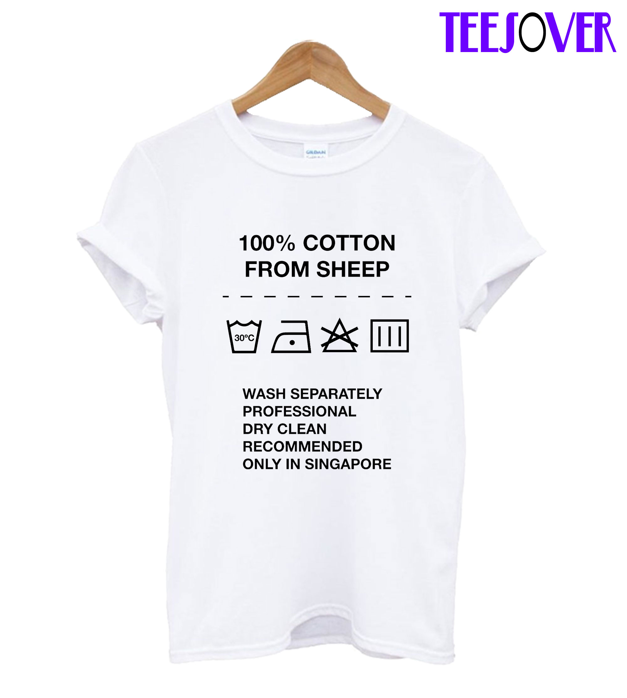 100% Cotton from Sheep T-Shirt