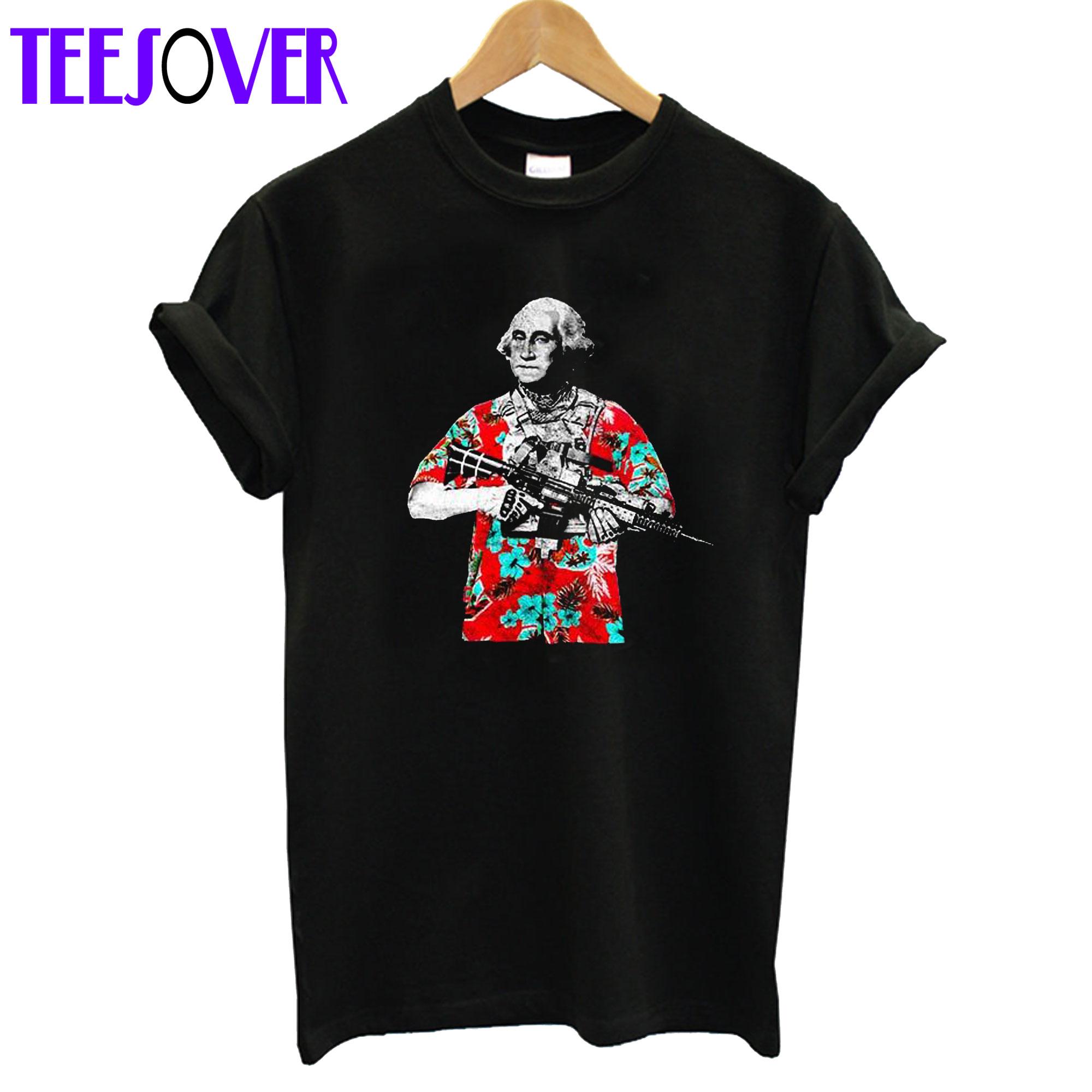 Boogaloo Hawaii George Washington 2020 T-Shirt