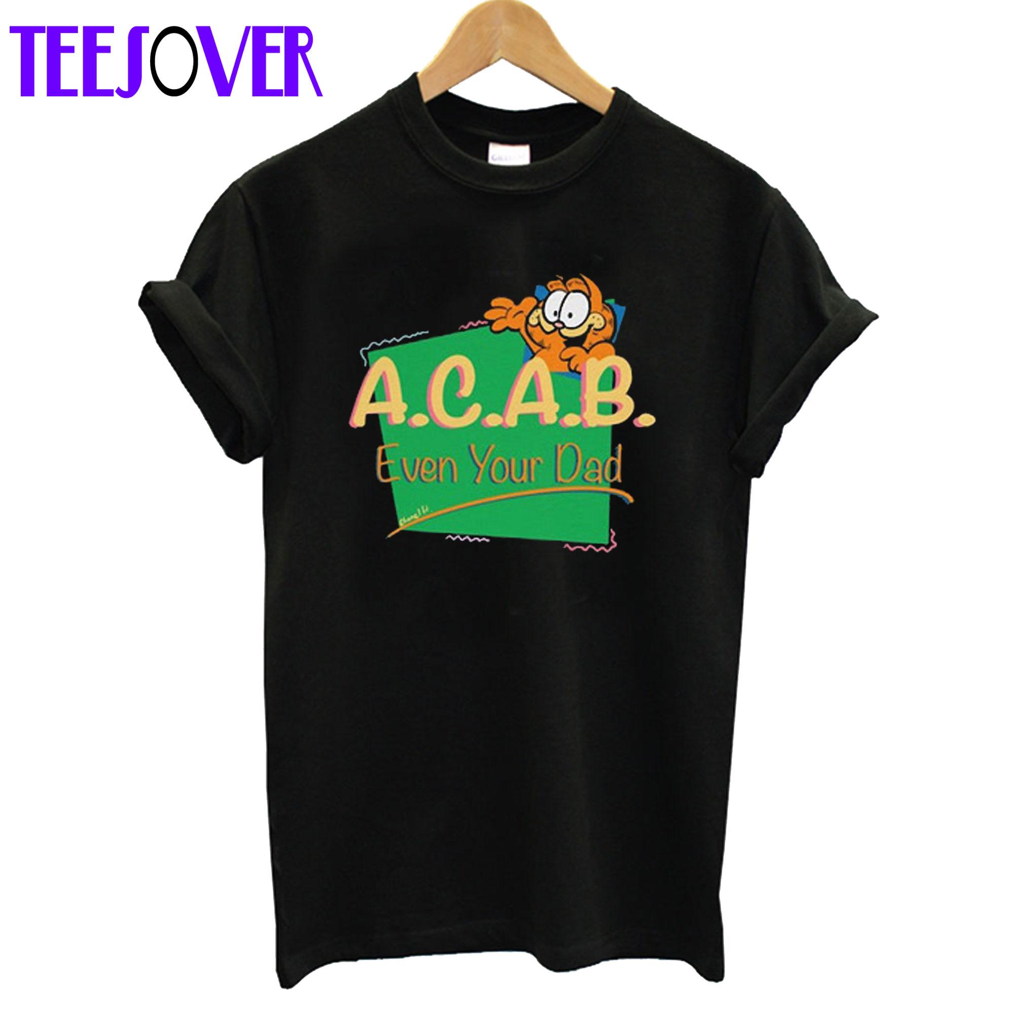 Vintage inspired ACAB Garfield T-Shirt