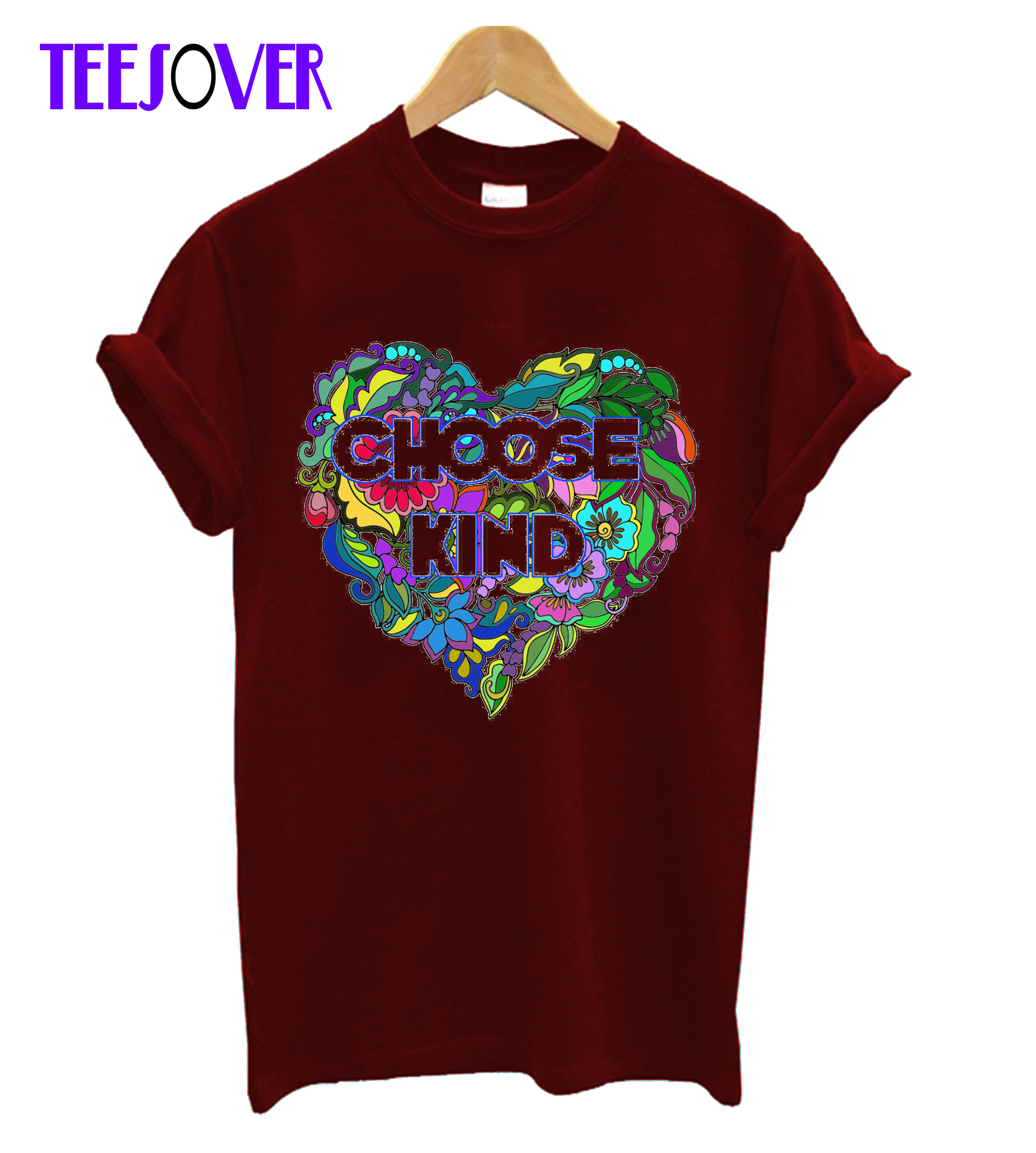 Choose kind Anti-bully Positive quote Teachers Gift T-Shirt