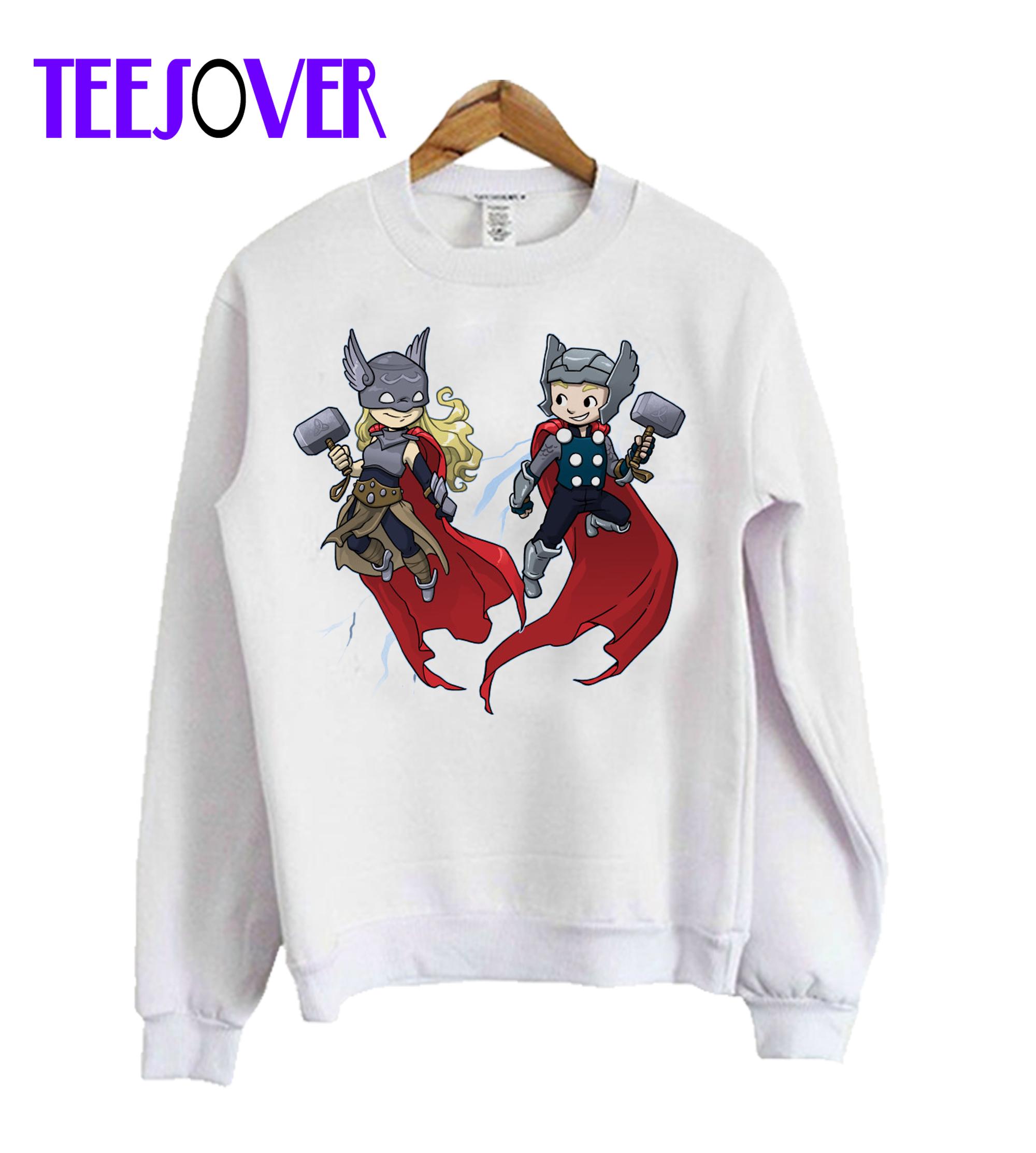 Double T Crewneck Sweatshirt